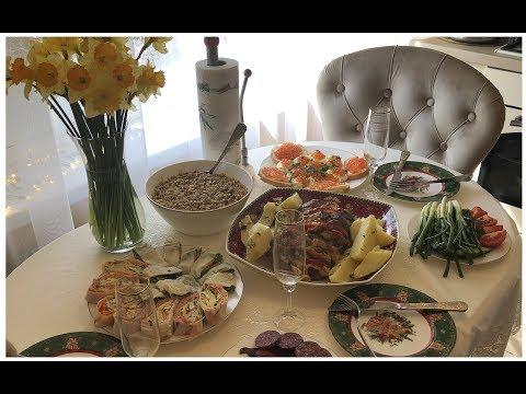 Как красиво накрыть стол на день рождения мужа