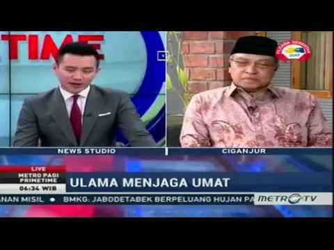 "Mau ""Jebak"" PBNU, Penyiar MetroTV Kaget Jawaban KH Said Aqil Siradj Soal Ahok"