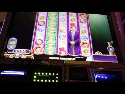 Ride along Willy Wonka Mega big win