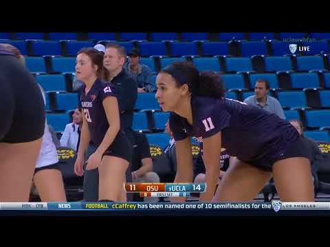 Oregon State at UCLA - NCAA Women's Volleyball (Nov 16th 2016)
