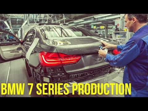 2017 BMW 7 Series Production (CFRP)