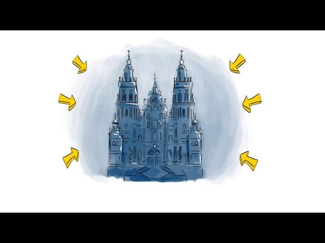 Historia del Camino de Santiago (2 de 4)   El Camino con Correos