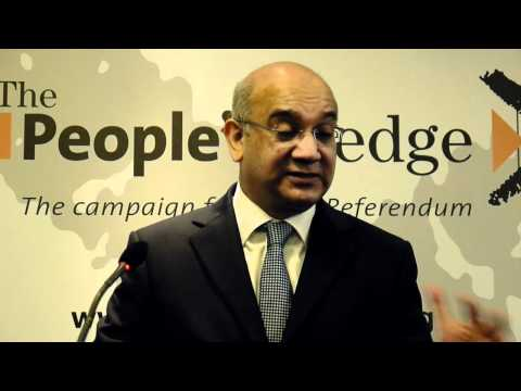 Keith Vaz at launch of the People