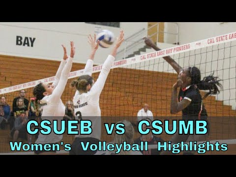 CSUEB Vs CSUMB Women's Volleyball Game (10/26/18)