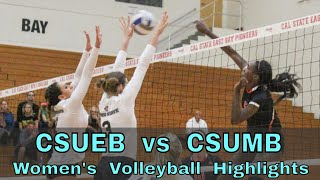 CSUEB vs CSUMB Women