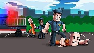Roblox   POLICE ESCAPE CHALLENGE - JailBreak Spiel! (Roblox Herausforderungen)