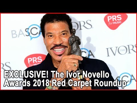 EXCLUSIVE! The Ivor Novello Awards 2018 Red Carpet Roundup