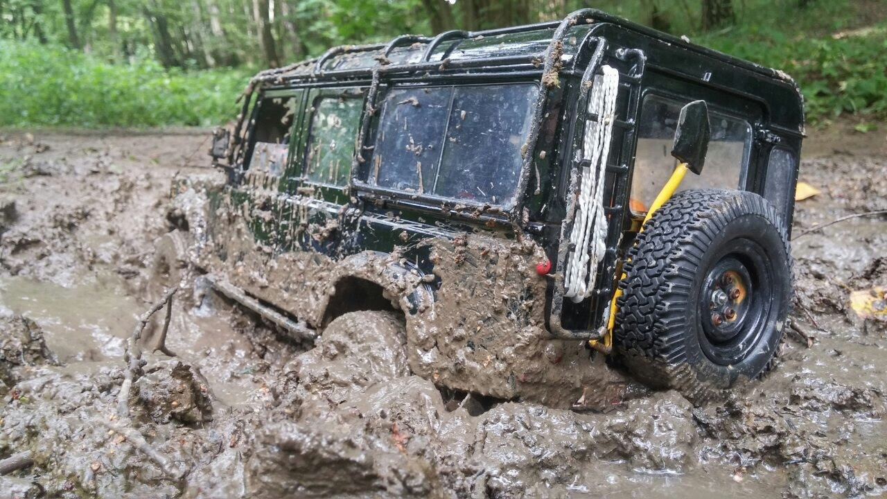 Rc Offroad 4x4 >> Defender Diaries 4x4 off road adventures rc Land Rover defender 90 feat defender 110 mud ...