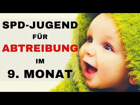SPD-Jugend für Abtreibung im 9.Monat