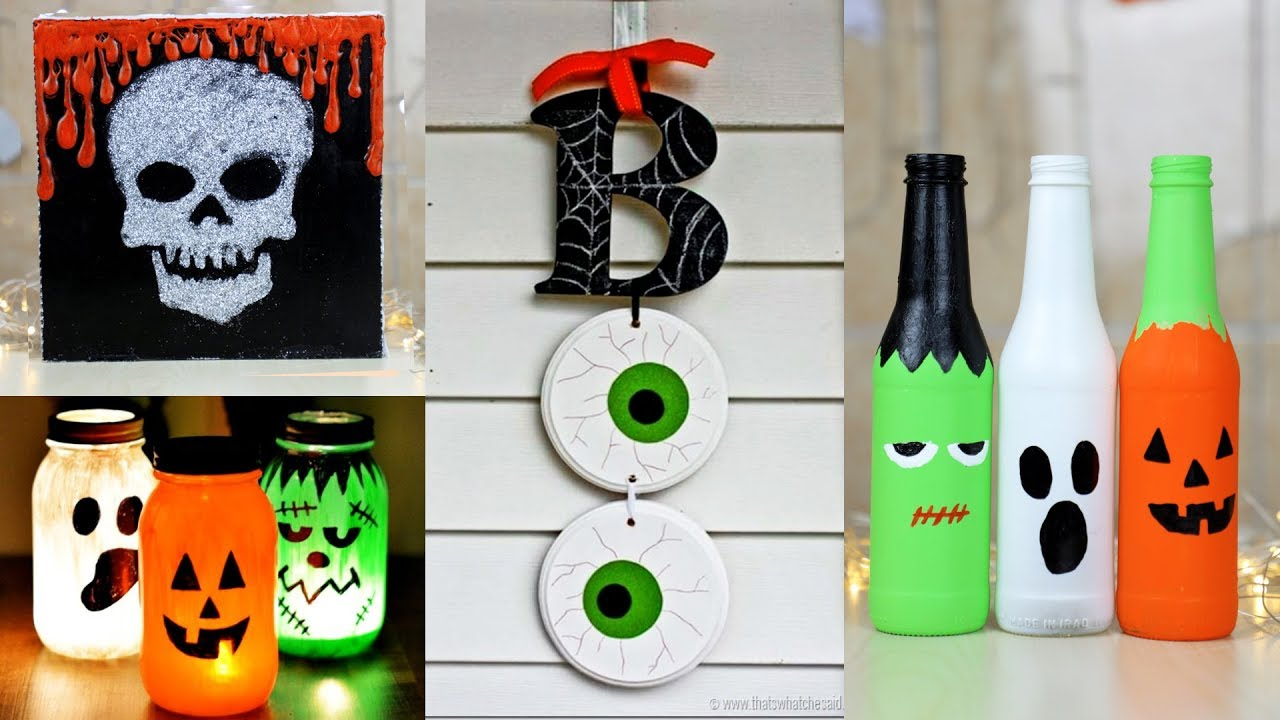 8 Easy And Cool DIY Halloween Decor Ideas! Amazing DIY ...