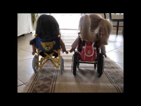 The American Girl Doll Wheelchair Race YouTube
