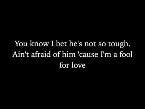Lord Huron - Fool for Love (Lyric Video)