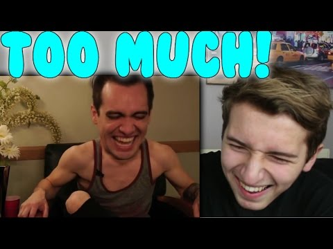 Drunk History: Fall Out Boy featuring Brendon Urie of Panic! At The Disco Reaction