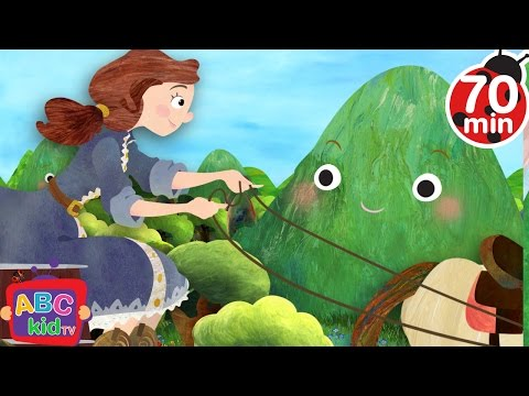 She'll be Coming Round the Mountain | + More Nursery Rhymes & Kids Songs - ABCkidTV