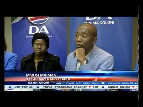 Mmusi Maimane to reveal his intentions for the party leadership race