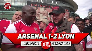 Arsenal 1- 2 Lyon | Defensively We Are Not Ready For The New Season! (DT)