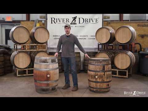 Oak Barrel Anatomy 101 - The Parts Of A Wood Spirit Barrel