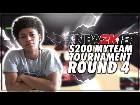 PLAYING AGAINST ANOTHER TOP PLAYER IN THE COMMUNITY! GAME 4 OF THE $200 MYTEAM TOURNAMENT! NBA 2K18