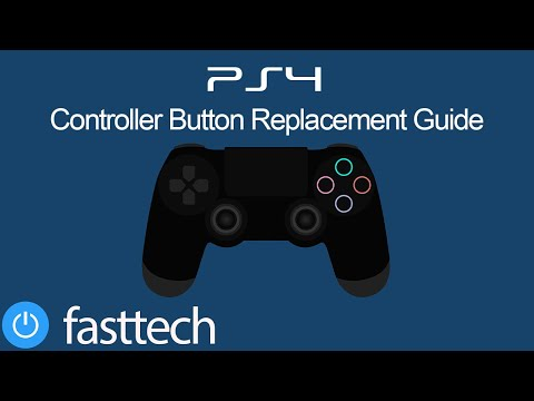 PS4 Controller Button Replacement Guide