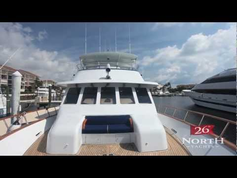 26 North Yachts: 76 Rayburn Custom Yacht for Sale - HD Video Tour