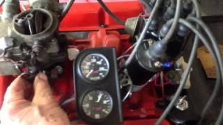 1963 Chevy 283 SBC Startup