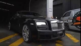 """Rolls Royce Ghost fitted with 24"""" Custom Designed Forgiato Wheels l Stylish Wheels"""