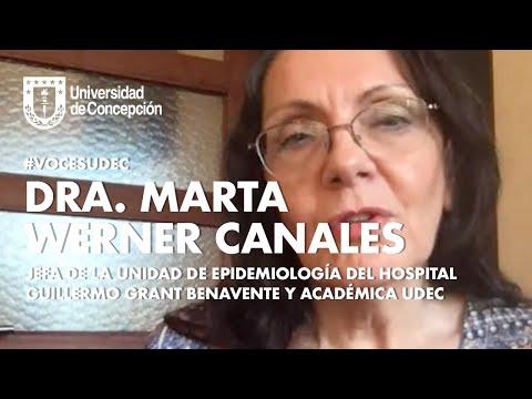 #VocesUdeC: Marta Werner, jefa de Unidad de Epidemiología del hospital Guillermo Brant Benavente