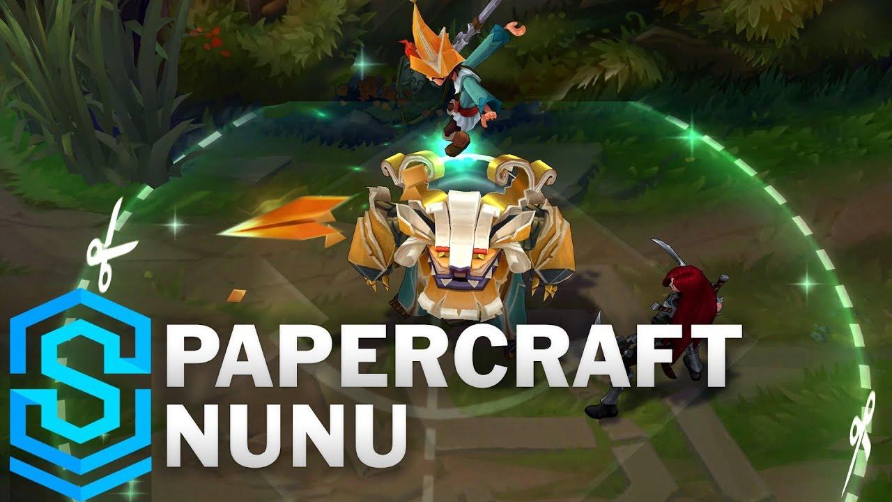 Download Papercraft Nunu Skin Spotlight - League of Legends