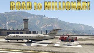 Flugschule: Das gibt viel Geld! #03 GTA 5 ROAD TO MILLIONÄR