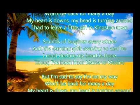 Caetano Veloso ~Jamaica Farewell 1957 ( lyrics )