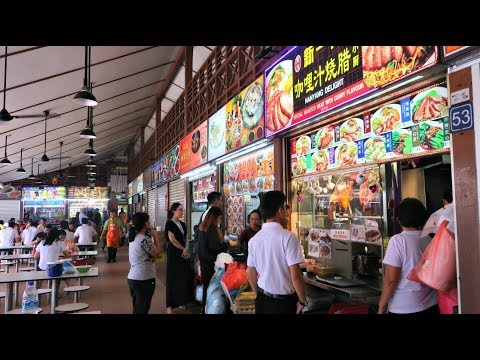Newton Hawker Centre | Singapore Food Tour