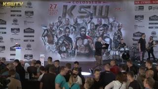 Oficjalna ceremonia ważenia KSW 39: Colosseum 2017 Video
