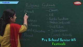 Festivals of India | Indian Festivals | Pre School Kindergarten