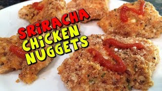 Sriracha Chicken Nuggets Recipe (healthy)