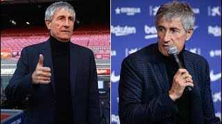 Quique Setien's First Words As The New Barcelona Coach   And Why Barça Fans Can Get Excited!