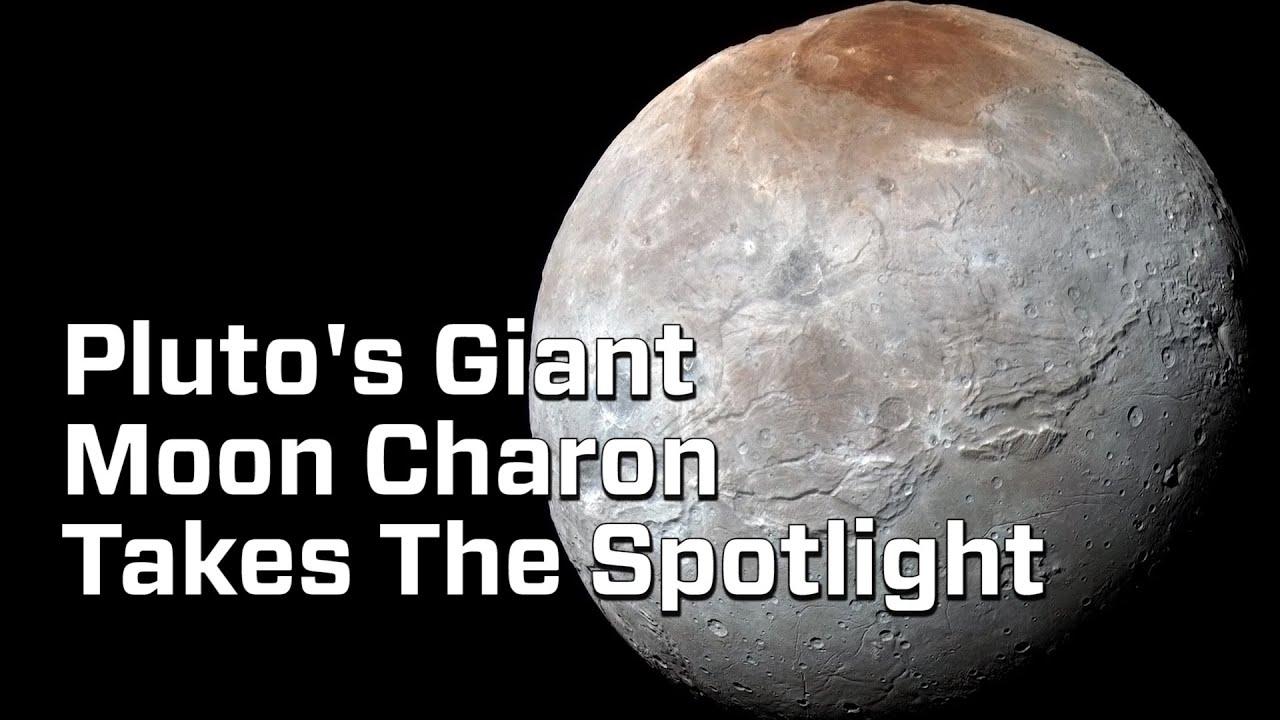 Charon Moon: Pluto's Giant Moon Charon Takes The Spotlight