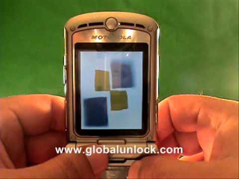 T Mobile UK Motorola RAZR2 V8 Unlock Method