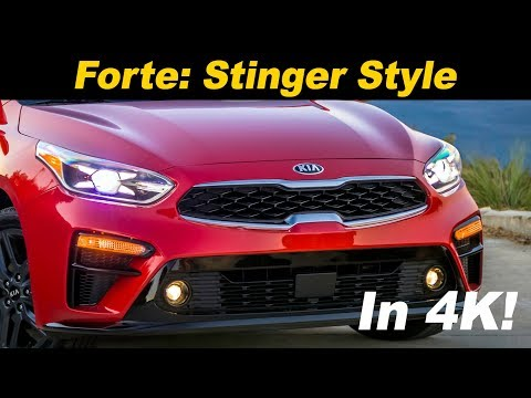 Kia Forte - Is it the Stinger&#;s Mini-Me?
