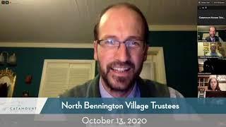 North Bennington Village Trustees // 10/13/20