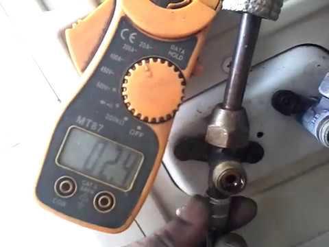 Cara melihat AMPERE mesin compresor ac
