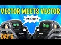VECTOR meets VECTOR - Battle for the Charger! DAY 5 -  Anki's New AI Robot (FREE VECTOR GIVEAWAY!)