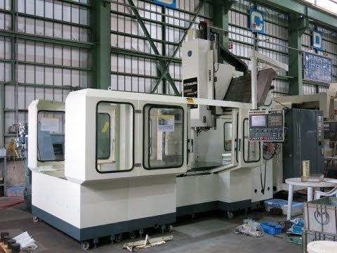23736 門型マシニングセンター キタムラ機械 BRIDGEcenter-8 2004年