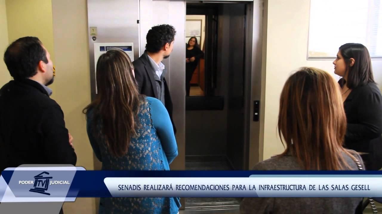 Noticiero judicial visita t cnica a las salas gesell de for Juzgado san miguel