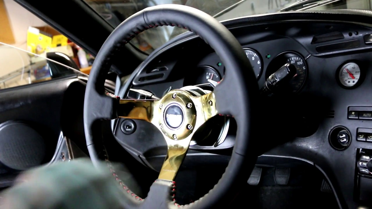 How To Install A Quick Release Steering Wheel And Steering