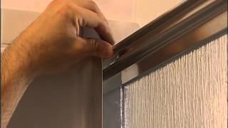 Installing Corner Shower Door