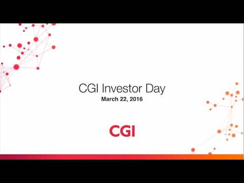 CGI Investor Day 2016 – Q&A with analysts