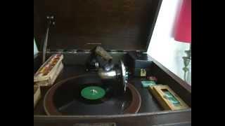 Opsitaand - Chris Blignaut Met Die Welgens Suikerbossie Orkes on 78rpm gramophone record