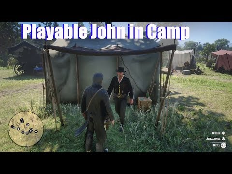 RDR2 Scumbag John Visits Camp - Red Dead Redemption 2 PS4 Pro thumbnail