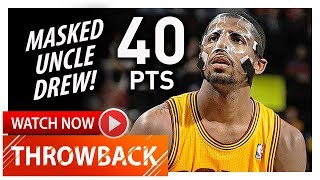 Throwback: Masked Kyrie Irving Full Highlights vs Celtics (2013.01.22) - 40 Pts, BEAST!