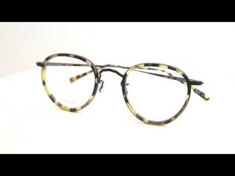 OLIVER PEOPLES メガネ眼鏡 | MP-2 DTBK オリバーピープルズ | By ポンメガネ - YouTube